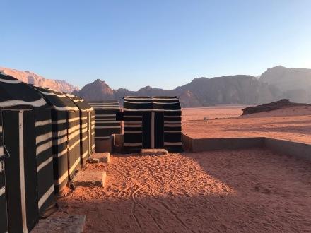 Levé du jour dans le désert