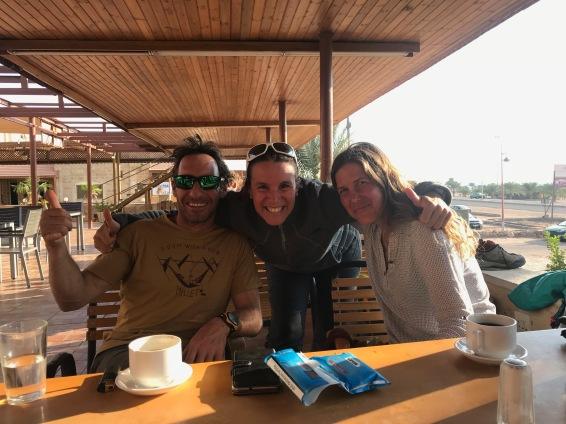 Avec Hervé et Dana